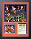Clemson Tigers 2016 College Football National Champs- CFP Collectible | Framed Photo Collage Decor - 12'x15' | Legends Never Die