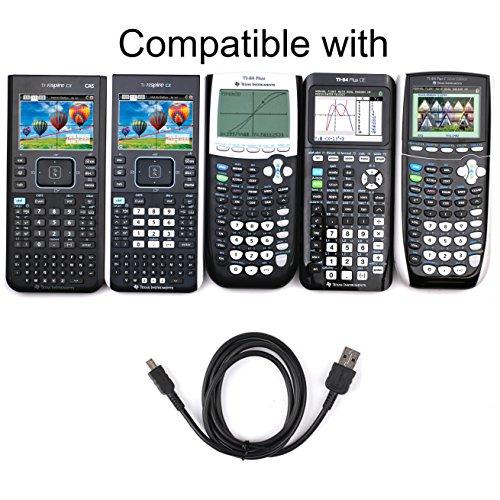 Texas Instruments Usb Cable For Ti 84 Plus Ti 84 Plus C Silver Edition Ti 89 Titanium Ti Nspire CX CX CAS graphing calculators Photo #6
