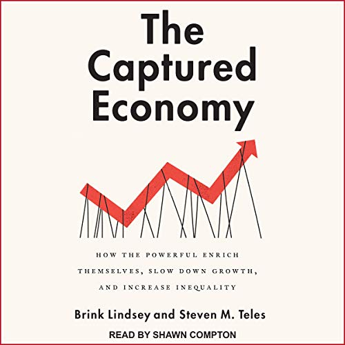 Page de couverture de The Captured Economy