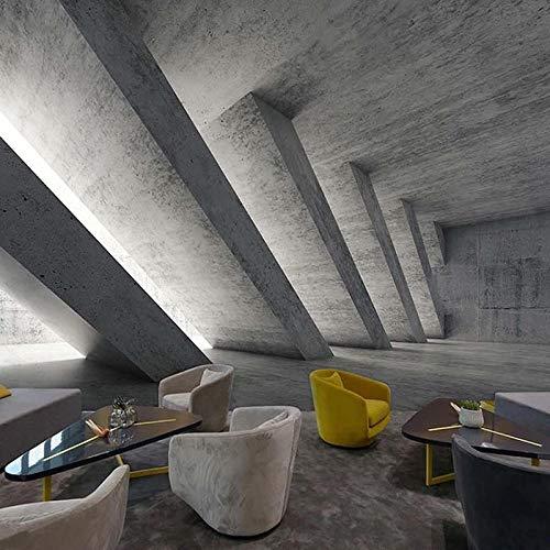 SUNNYBZ 3D Decorativos Murales Arte Retro Industrial Feng Shui Cemento 300X210 Cm Calcomanías Creativo Pegatina De Pared Adhesivos Pared Efecto Pared Rota, Para Infantiles Habitación Salón Dor