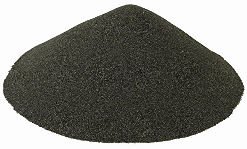BLACK BEAUTY Abrasive Blast Media Extra Fine Abrasive 30/60 Mesh Size for use in Sandblast Cabinet - 10 LBS