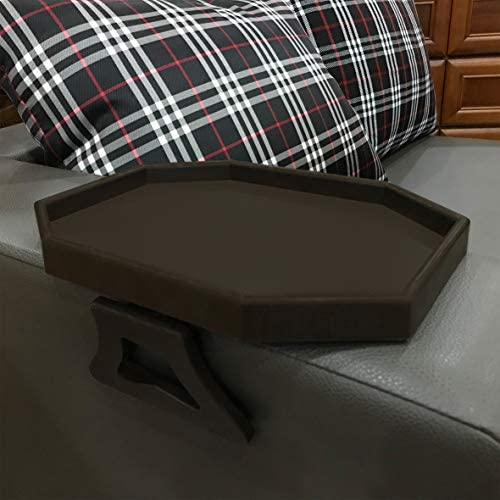 Forzaddik Side tables Sofa Armrest Clip On Table Recliner Armchair Organizer Tray cherry product image