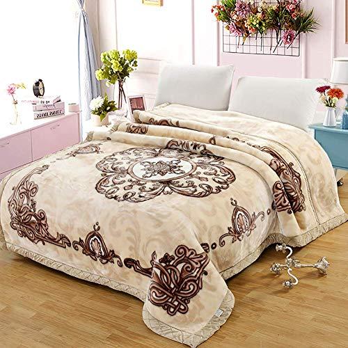 Multifunctional Decorative Blanket Sofa Blanket Warm Cotton Towel Lining