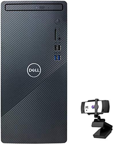 Dell 2020 Newest Inspiron Desktop PC, Intel Core i5-10400, 12GB DDR4 RAM 1TB HDD, HDMI, WiFi Bluetooth, DVD-RW, Wired Keyboard & Mouse, KKE 1080P Webcam, Windows 10 Home