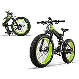 Bicicleta Eléctrica Plegable 1000W/500W 40km/h Ruedas Anchas 26 x 4 Pulgadas Bateria Removible 48V 12,8AH Shimano 27 Velocidades Bicicletas de Ciudad Montaña/Playa/Nieve/ Todo Terreno[EU Stock]