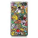 CASEiLIKE Funda Mi Mix 2, Carcasa Xiaomi Mi Mix 2, Graffiti 2731, TPU Gel Silicone Protectora Cover
