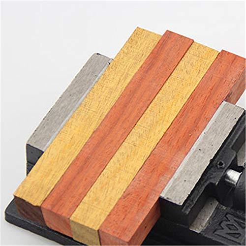 WXH Mini-Flachschraubstock aus Gusseisen, Schraubstock zum Festklemmen der Bank, 4 Zoll / 5 Zoll, Präzisionsfräsarretierung für Bohrständer