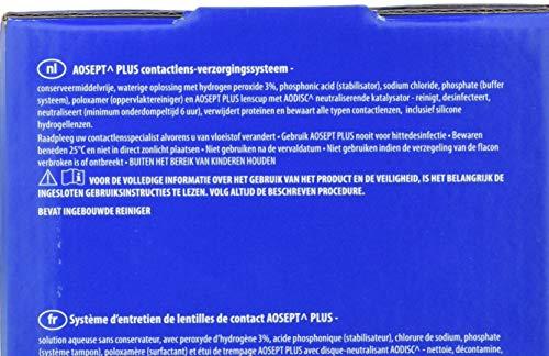 Aosept Plus Kontaklinsen-Pflegemittel, Sparpack, 5 x 360 ml - 3