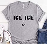 Ice Ice Ice - Camiseta para mujer embarazada con diseño de embarazada