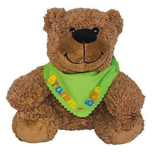 Doudou Ourson avec bandana personnalisé, anniversaire cadeau, cadeaux naissance, baptême cadeau