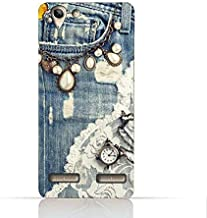 Lenovo Vibe K5 Plus TPU Silicone Case with Modern Jeans Pattern