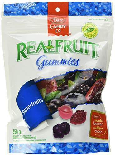 Dare RealFruit Superfruits Gummies, 350g/12.34oz