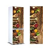Oedim Vinilo para Frigorífico Especias 185x70cm | Adhesivo Resistente y Económico | Pegatina Adhesiva Decorativa de Diseño Elegante
