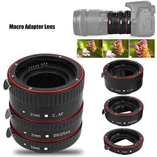 Mavis Laven 13 mm, 21 mm, 31 mm Autofokus-Makro-Zwischenring-Tubus-Set für Canon EOS EF-Mount