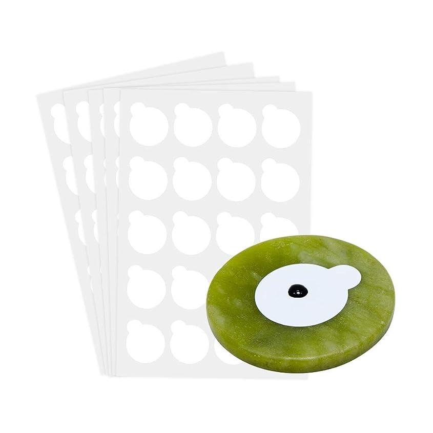 重要性熱心チャレンジNAGARAKU 5 sheets and 1stone eyelash extensions glue holder jade stone holder glue pallet glue stand pads for eyelash extensions