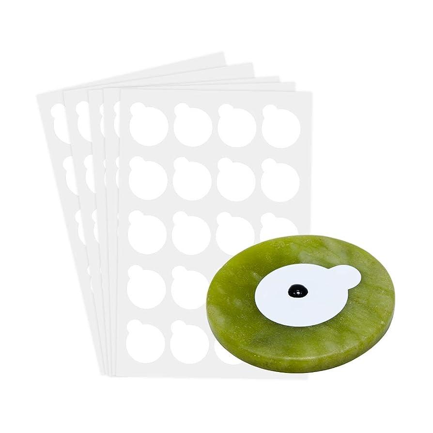 ベンチ自発祭司NAGARAKU 5 sheets and 1stone eyelash extensions glue holder jade stone holder glue pallet glue stand pads for eyelash extensions
