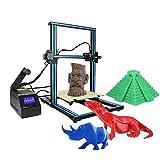 Creality CR-10 3D DIY Drucker 300 * 300 * 400mm Druckgröße Aluminiumrahmen mit 200g Filament Unterstützt PLA / ABS / TPU / Kupfer / Holz / Kohlefaser Filament+1 Aibecy Tuch (Blau)