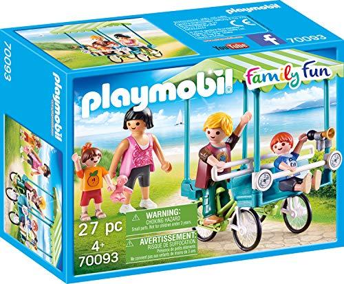 Playmobil 70093 Family Fun Familien-Fahrrad, bunt