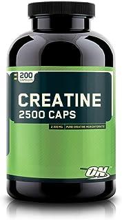 Optimum Nutrition Creatina 2500, Sabor Standard - 200 Cápsulas