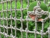 Filet d'escalade for enfants Extérieur, jardin d'enfants Aire de jeux Attractions touristiques Jeu Formation réseau d'escalade Échelle de camion lourd Escaliers de corde Balcon Protection de fenêtre F