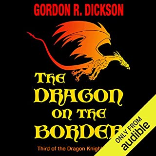 The Dragon on the Border audiobook cover art