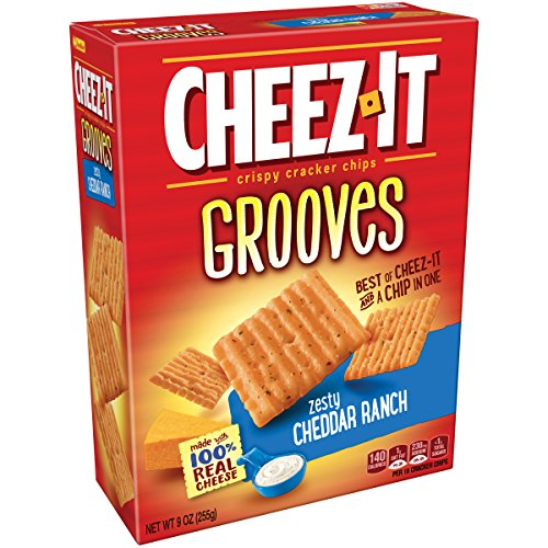 Cheez It Grooves Zesty Cheddar Ranch, 9 Ounce by Cheez-It