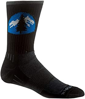 Wrightsock Escape Crew Sock with a Helicase Sock Ring