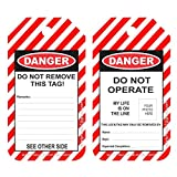 Safety House Loto Lockout Tagout Loto Tags -Set of 10