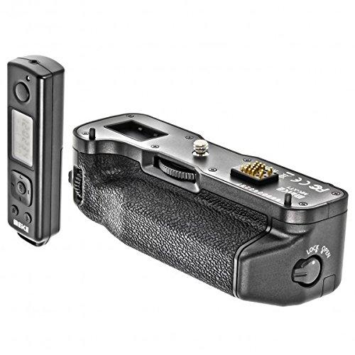 Impulsfoto Meike MK-XT1 - Impugnatura portabatteria compatibile con Fujifilm X-T1, con telecomando da 2,4 GHz, con funzione timer e intervallo, compatibile con Fujifilm X-T1