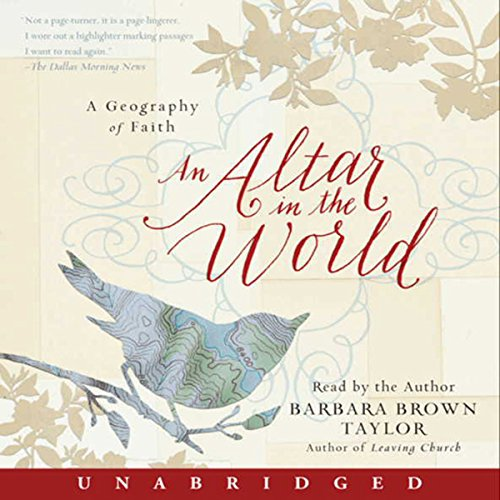 An Altar in the World audiobook cover art