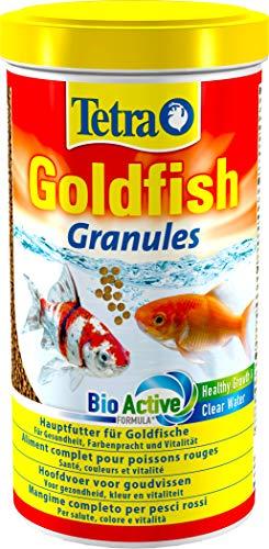 Tetra Goldfish Granules, Mangime in granuli galleggianti per Pesci Rossi e Altri Pesci d'Acqua Fredda - 1 L