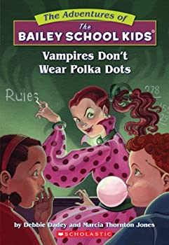 Paperback Vampires Don't Wear Polka Dots (The Adventures Of The Bailey School Kids) Book