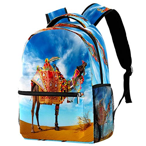 Butterfliy Art - Mochila escolar para viajes, diseño informal, estampado 4 (Multicolor) - bbackpacks004