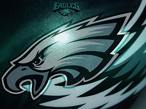 DIY 5D Diamond Painting Kits for Adults 14x20 lnch,Philadelphia Eagles Full Drill Diamond Painting Crystal Diamond Arts Crafts for Home Wall Decor,NFL Team Logo Mar6-151