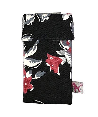 smokeshirt® Zigarettenetui Super Slim 55 mm div. Designs smoke shirt Hülle für Zigarettenschachtel in der Größe Super Slim, modisch, Elegante, patentiert