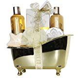 Gloss - caja de baño, caja de regalo para mujeres - tina de baño - me lo permiten Oro