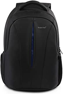 Kopack Business Laptop Backpack with USB Charging Port Anti-Theft Travel Bag Computer Backpack Bag Water Resistant 15.6 inch Grey (Black-Blue)