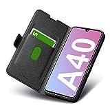 Funda Samsung Galaxy A40, Fundas A40 Libro, Carcasa Samsung A40 con Cierre Magnético, Tarjetero y...