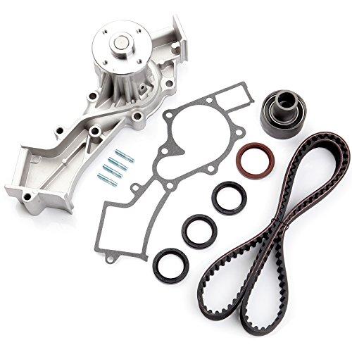 Scitoo Timing Belt Water Pump Gasket Tensioner Kit Fits 3.3L Infiniti QX4 for NISSAN Frontier Xterra Pathfinder 12 Valve VG33E VG33ER V6 SOHC