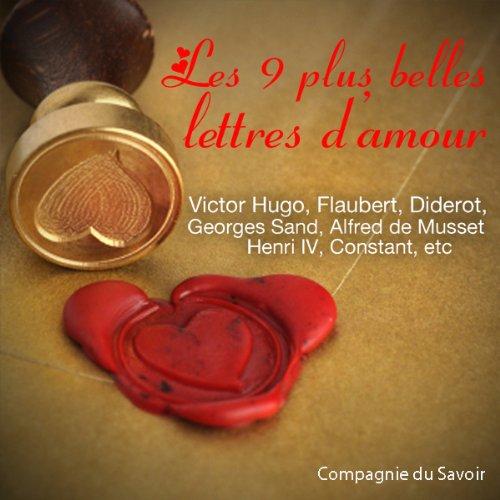 Couverture de Les 9 plus belles lettres d'amour