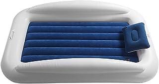 seraphicar Uppblåsbar barnsäng, uppblåsbar barnmadrass med fallskydd och bärbar kudde, uppblåsbar madrass, vikbar tjock lu...