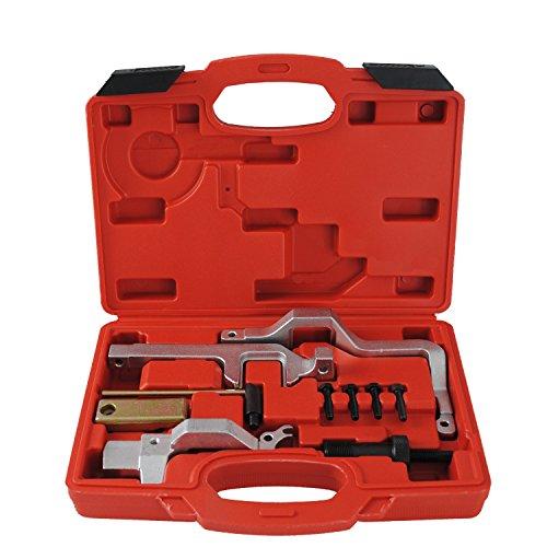 CCLIFE Motor Einstellwerkzeug Arretierwerkzeug Steuerzeiten Werkzeug Kompatibel mit BMW Mini Cooper N12 N14 Peugeot 207 Citroen 1.4 1.6 16V