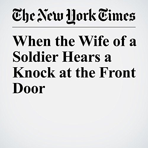 When the Wife of a Soldier Hears a Knock at the Front Door audiobook cover art