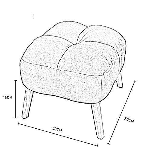 YIZ Modern Meubelen Enkele Doek Multi-Functionele Sofa Kruk Creatieve Woonkamer met Slaapkamer Tv Sofa Kruk Verander Schoen Kruk (Four Kleuren Optioneel) #4