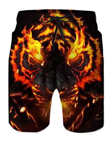 Goodstoworld Pantalones Cortos De Natación para Hombre Divertidos Pantalones Cortos De Playa...