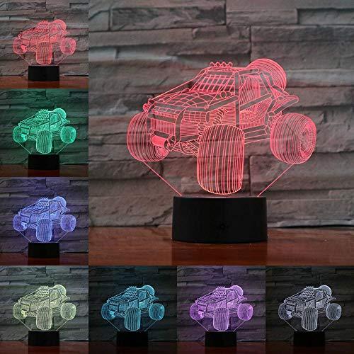 Tischlampe Nachtlicht Lampe Taschenlampe ATV-Beleuchtung für die besten Freunde der Kinder zum Anfassen