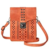 MINICAT Women RFID Blocking Small Crossbody Bags Cell Phone Purse Wallet With Credit Card...