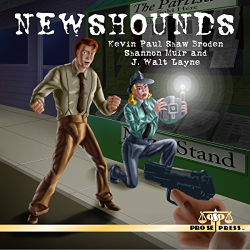 Newshounds audiobook cover art