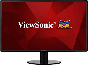 ViewSonic VA2719-SMH 27 Inch IPS 1080p Frameless LED Monitor with HDMI and VGA Inputs for Home and Office,Black