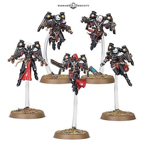 Games Workshop Warhammer 40,000: Adepta Sororitas Seraphim and Zephyrim Squad